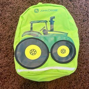 John Deere Toddler Tractor Backpack
